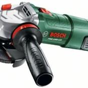 Bosch Home and Garden Winkelschleifer PWS 1000-125, Handgriff, Schutzhaube, Koffer (1000 W, Leerlaufdrehzahl: 11.000 min-1, Schleifscheiben-Ø: 125 mm) - 1