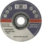 50 Stück SBS Inox Trennscheiben 125 x 1,0 mm - 1