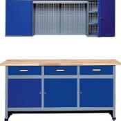 Küpper Qualitäts-Werkbank-Komplettset Modell 70421, Breite 170 cm - 1