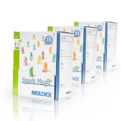 Ohrstöpsel Gehörschutz von MOLDEX 7800 Spark Plugs Soft - 1